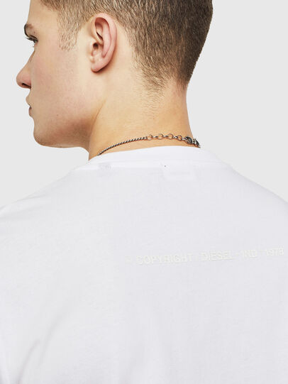 Diesel - T-JUST-T18, White - T-Shirts - Image 3