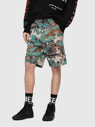 P-FRANK-SHO-CAMOU,  - Shorts