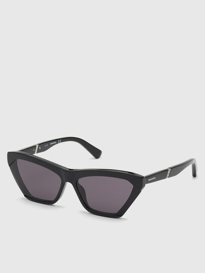 Diesel - DL0335, Black - Sunglasses - Image 2