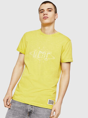 T-DIEGO-CUT-A, Yellow - T-Shirts