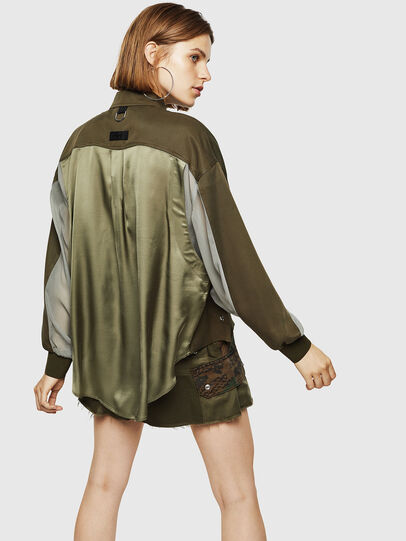 Diesel - C-LEXYS, Military Green - Shirts - Image 2