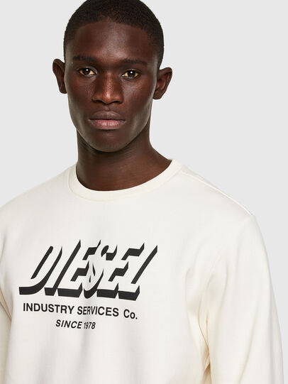 Diesel - S-GIRK-A74, White - Sweaters - Image 3