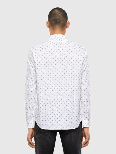 Diesel - S-RILEY-ANC-KA, White - Shirts - Image 2