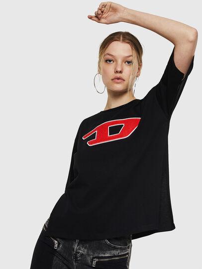 Diesel - T-JACKY-I, Black - T-Shirts - Image 1