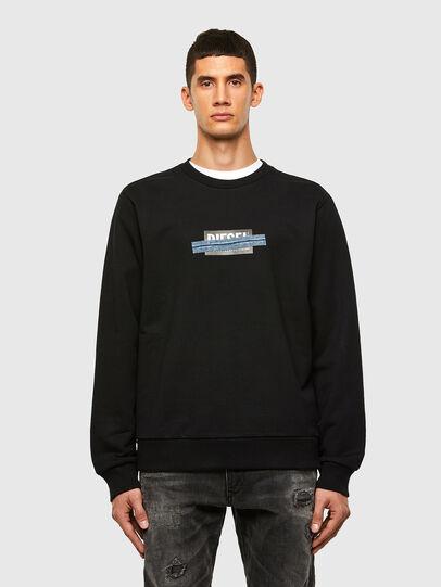 Diesel - S-GIRK-N83, Black - Sweaters - Image 1