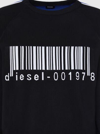 Diesel - K-RUSH, Black - Knitwear - Image 3
