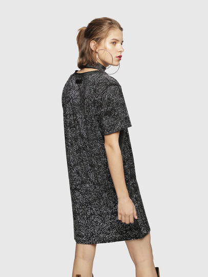 Diesel - D-ARY, Black/Grey - Dresses - Image 2