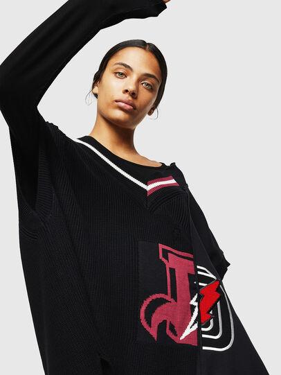 Diesel - M-LEADER, Black - Knitwear - Image 4