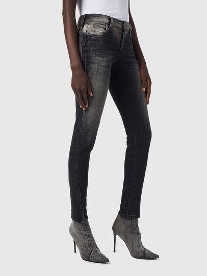 Diesel - D-Jevel 09B18, Black/Dark grey - Jeans - Image 6