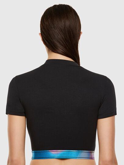 Diesel - UFTEE-GIORGI-SV-ML, Black - T-Shirts - Image 2