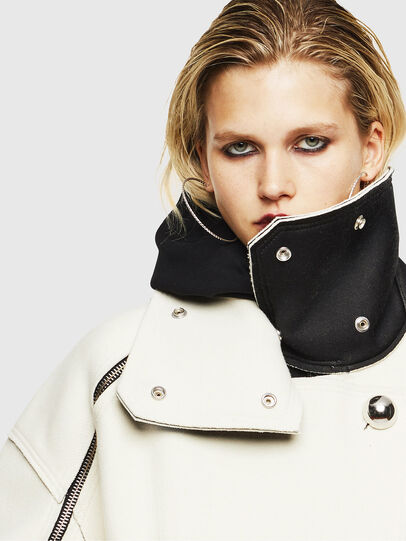Diesel - W-UDAMYS, White - Winter Jackets - Image 5