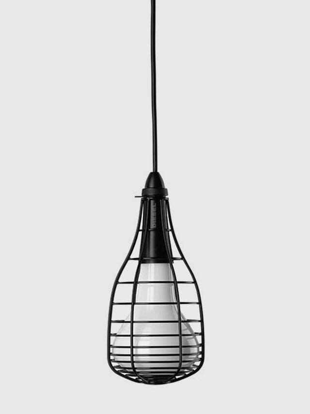 Diesel - CAGE SOSPENSIONE MIC, Black - Hang Lighting - Image 1