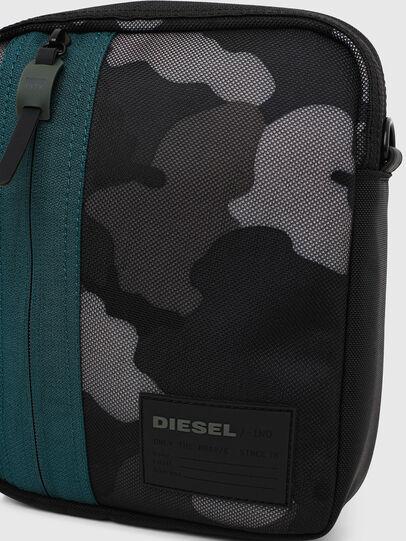 Diesel - ODERZO Z, Blue/Grey - Crossbody Bags - Image 5