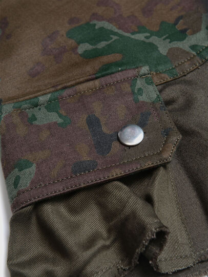 Diesel - GAMATA, Green Camouflage - Skirts - Image 3