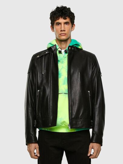 Diesel - L-CODY, Black - Leather jackets - Image 6