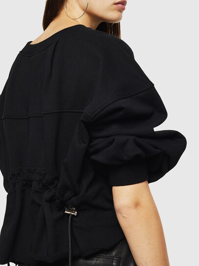 Diesel - F-MONDY, Black - Sweaters - Image 5