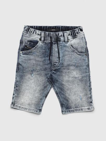 Diesel - KROOLEY-NE-J SH, Light Blue - Shorts - Image 1
