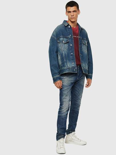 Diesel - D-Bazer 0090D, Medium blue - Jeans - Image 6