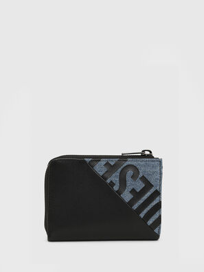 L-12 ZIP, Black/Blue - Small Wallets