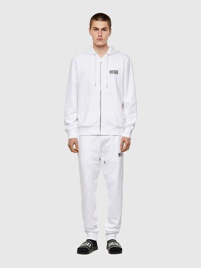 Diesel - S-GIRK-HOOD-ZIP-ECOL, White - Sweaters - Image 4