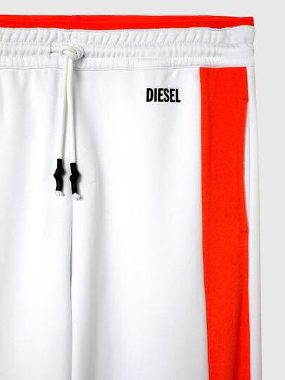 Diesel - UMLB-PETER-SP, White/Orange - Pants - Image 3