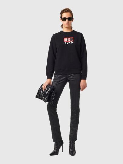 Diesel - F-ANGS-B3, Black - Sweaters - Image 4