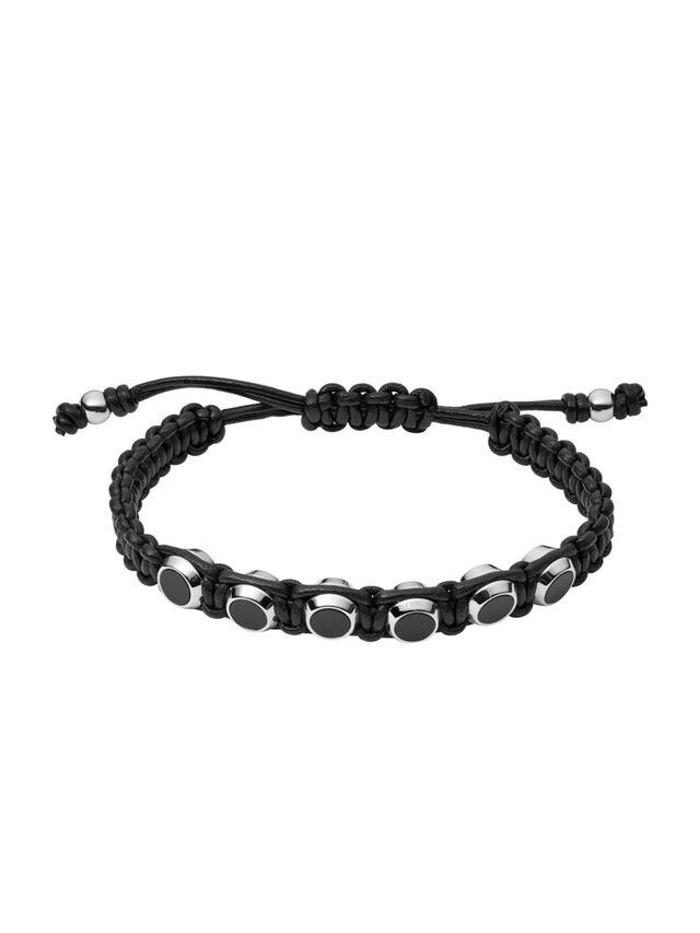 Diesel BRACELET DX1072, Black - Bracelets - Image 1