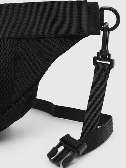 Diesel - F-URBHANITY BUMBAG, Black - Belt bags - Image 5