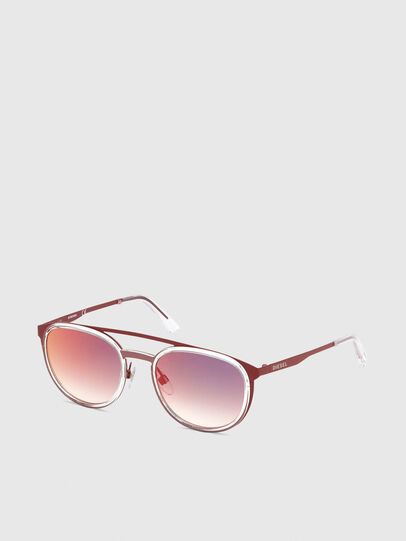Diesel - DL0293, Red/White - Sunglasses - Image 2