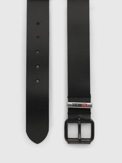 Diesel - B-VITO, Black - Belts - Image 3