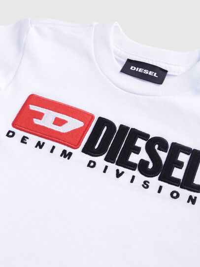 Diesel - TJUSTDIVISIONB-R, White - T-shirts and Tops - Image 3