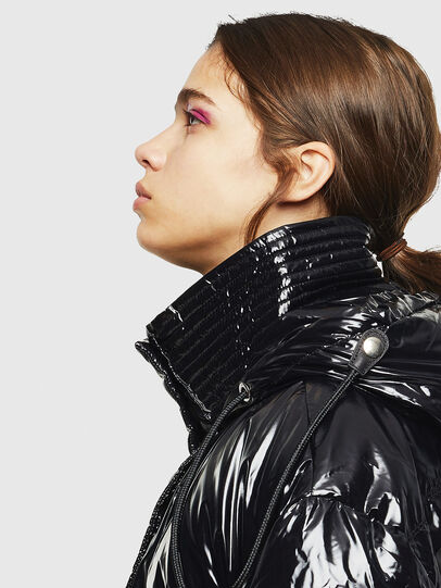 Diesel - W-ALLA, Black - Winter Jackets - Image 4