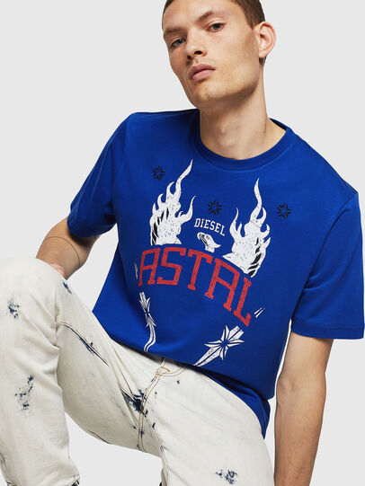 Diesel - T-JUST-A5,  - T-Shirts - Image 4