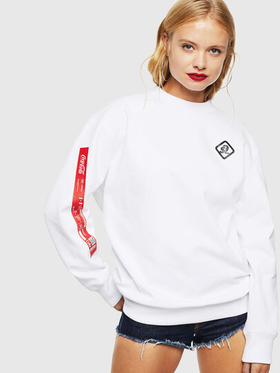 Diesel - CC-S-BAY-COLA, White - Sweaters - Image 2