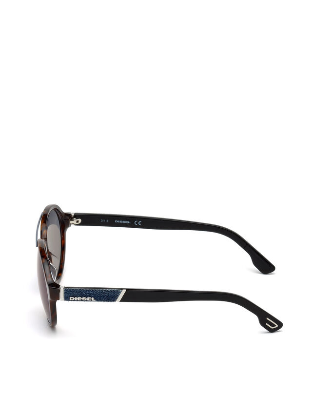 Diesel - DL0214, Brown - Eyewear - Image 3