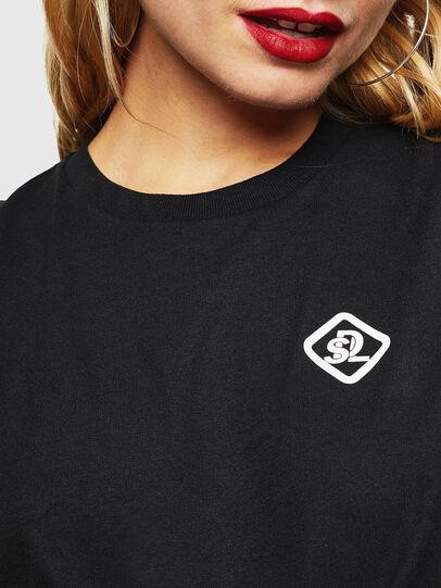 Diesel - CC-T-DIEGO-COLA, Black - T-Shirts - Image 5