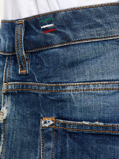 Diesel - D-Vider 009KG, Dark Blue - Jeans - Image 5