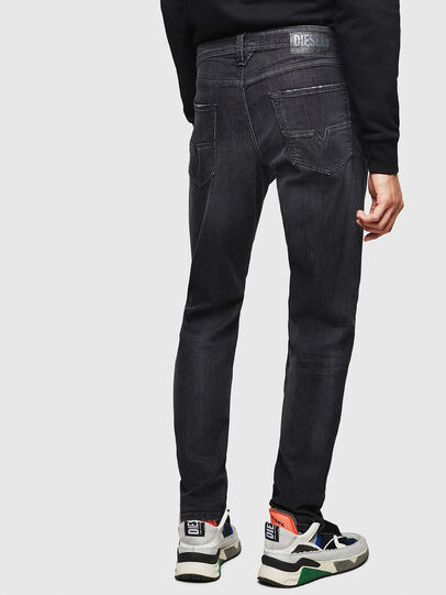Diesel - Larkee-Beex 082AS, Black/Dark grey - Jeans - Image 2
