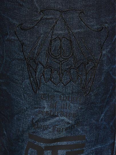 Diesel - D-Reeft JoggJeans 069RB, Dark Blue - Jeans - Image 4