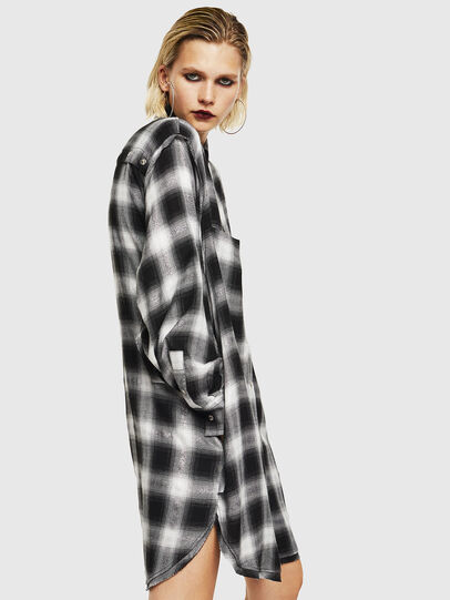 Diesel - D-SUNNY-A, Black/White - Dresses - Image 5