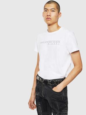 T-DIEGO-SLITS-J6, White - T-Shirts