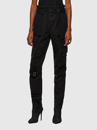 Diesel - P-FEDRA-A, Black - Pants - Image 1