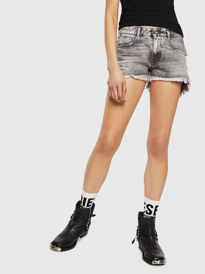 Diesel - DE-RIFTY, Light Grey - Shorts - Image 1