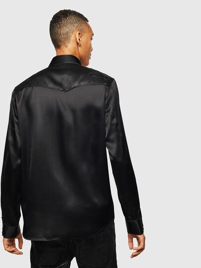 Diesel - S-VEL, Black - Shirts - Image 2