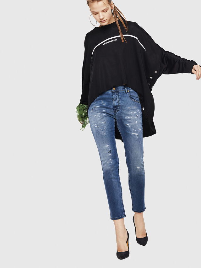 Diesel - Krailey JoggJeans 069HA, Medium blue - Jeans - Image 6