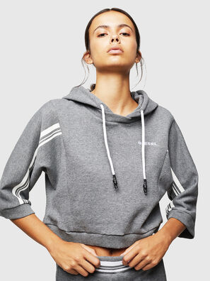 UFLT-VERTIX-CROP, Grey - Sweaters