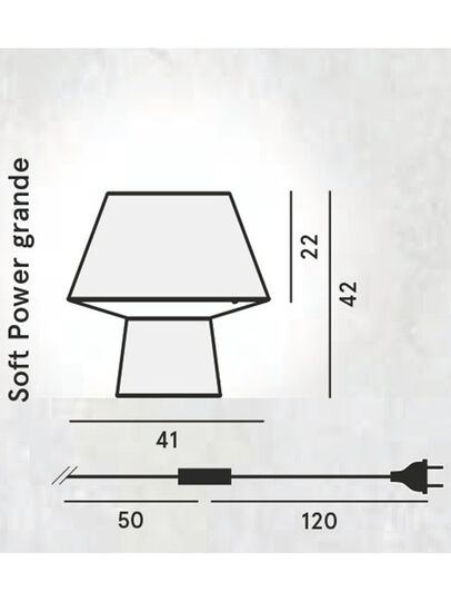 Diesel - SOFT POWER GRANDE,  - Table Lighting - Image 2
