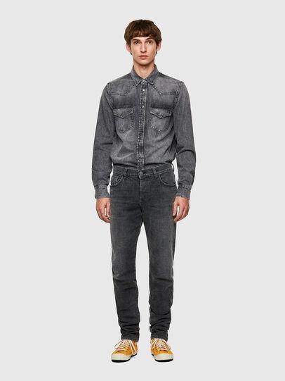Diesel - D-Kras 09A3A, Black/Dark grey - Jeans - Image 5