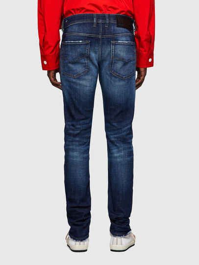 Diesel - Sleenker 09A27, Dark Blue - Jeans - Image 2