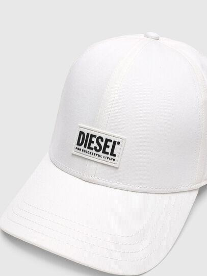 Diesel - CORRY-GUM, White - Caps - Image 3